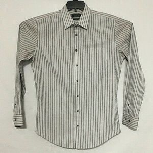 Nordstrom Men's Shirt Size 15 1/2 Wrinkle Free